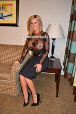 "JENNY P  8x12"" Original PHOTO-341- BUSTY BABE"
