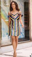 Multicolor Sequin Dress By Boston Proper Size 4 Original Price $169