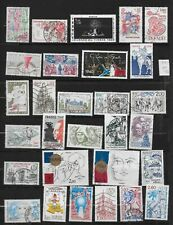 France postage stamps 1980-82 selection vgc used