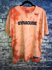 Syracuse Lacrosse Nike T-Shirt Adult Extra Large Tie Dye Free Shipping Must Look