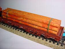 Bauer H0 Tubo invecchiato 128mm lungo, Bundle 11 Tubi
