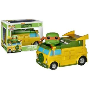FUNKO Pop Rides 05 Tmnt Turtle Van