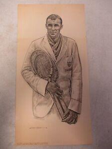 1960's Bill Tilden Sports Illustrated Portfolio Print by Robert Riger