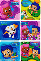 Bubble Guppies Stickers x 6 - Favours - Birthday Supplies - Party Supplies Gifts