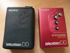 Sony Walkman WM DD 10 metallic rot mit Tasche
