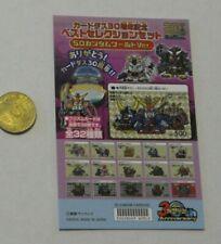 GUNDAM SD CARDDASS BEST SELECTION CARD CARTE MINI DISPLAY 30TH JAPAN MINT #SP1