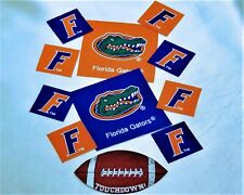 University of Florida Gators Ncaa Fabric Iron On Appliques, Patchs 10 Pc