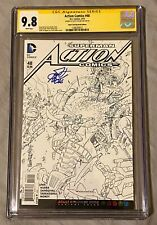 Action Comics #48 CGC 9.8 SS Adult Coloring Book Edition Signed By Scott Kolins!