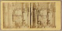 Foto Di Dopo Incisione Cattedrale Da Milan Italia - PL55L2n Vintage Albumina