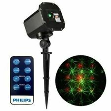 P3 PHILIPS MOTION LASER PROJECTOR 12 SELECTABLE MOVING PATTERNS INDOOR/OUTDOOR ~