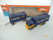 TEKNO 1:50 HOLLAND # Scania  142 H  ASG TRANSPORT SPEDITION  N MINT BOX