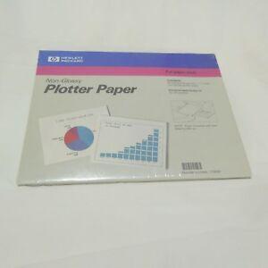 """Hewlett Packard Non-Glossy Plotter Paper 50 Sheets  17800P 8 1/2"""" x 11"""" HP 6 pks"""