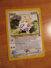 NM Pokemon TOGEPI Card BLACK STAR PROMO Set #30 Wizards of the Coast League WOTC