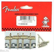 NEW BRIDGE BASS FENDER vintage- USA - pour guitare Pbass ou Jbass 0990804100