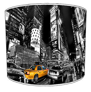 New York Lampshades Ideal To Match The Big Apple Quilts & Bedspreads