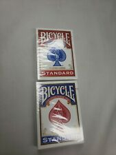 2 Deck Bicycle Playing Cards Poker Playing Cards Blue/Red