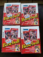 1990 Donruss Baseball Wax Box. 4 boxes. Griffey. Sosa Rookie