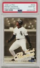 1998 Ultra Frank Thomas Gold Medallion #63G PSA 10 Gem Mint *POP 2* White Sox