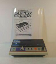 Entex Super Cobra Handheld/Tabletop Video Game WORKING RARE VINTAGE 1982