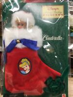 Disney Cinderella Holiday Stocking Vintage 1997 Avon Exclusive Mattel   a1