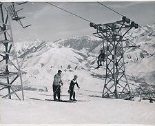 U S A c. 1950 - Skieurs Neige Télésiège  - GF 556