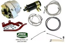 Farmall IH 12 Volt Alternator Conversion Kit & Wiring set Farmall C, Super C