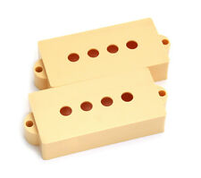 Cream P Bass® Style Pickup Covers PC-0951-028