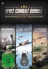 Tank Operations + Storm Over Pacific + Panzers War Europe WW2 Combat Bundle Top