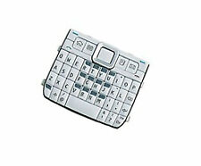 For Nokia E72 Keypad Keyboard Buttons Number Key mat Replacement Part White UK