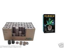 20 x Coco Jiffy 35mm Propagation Blocks ,Clonex 50 ml