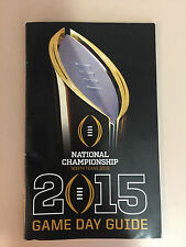 2015 Inaugural CFB National Championship Game Day Guide