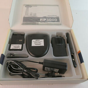 Relm UHF 128 Chanel Field Programmable Ham Radio - 2-Way Radio RP3000