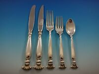 Romance of the Sea by Wallace Sterling Silver Flatware Set Service 40 pieces