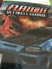 FlatOut: Ultimate Carnage (Microsoft Xbox 360, 2007) Complete FAST SHIPPING