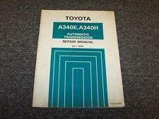 1985 1986 1987 1988 1989 Toyota 4Runner A340H Transmission Service Repair Manual