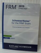 Kaplan Schweser Cfa Frm 2019 Exam Prep Schwesernotes Part I Book 3 Preperation