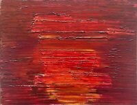 Jean Pons huile sur toile signée art abstrait abstraction abstract