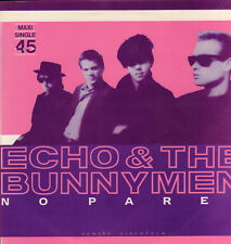 "ECHO & THE BUNNYMEN - No Pares (RARE 1983 MAXI SINGLE 12"" PORTUGAL)"