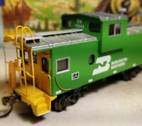 HO Athearn BNSF caboose car, for train set, New RTR , Burlington Northern