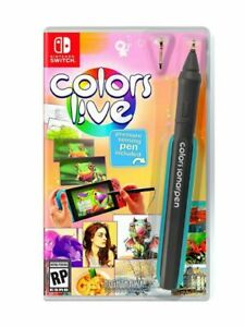 Colors Live (Nintendo Switch, 2021) Brand New Factory Sealed