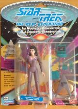 STAR TREK THE NEXT GENERATION DEANNA TROI LIEUTENANT COMMANDER NEW/SEALED CARDED