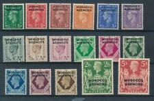 [55068] Morocco Agencies 1949 good set MH Very Fine stamps