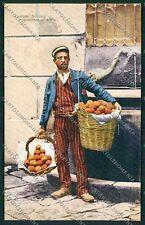 Palermo Costumi Siciliani cartolina QQ0917