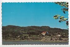 Chalet du Club de Golf de BIC Rimouski Bas St-Laurent Quebec Canada Postcard
