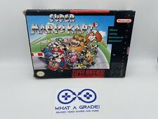 Super Mario Kart SNES 💎 Box only 💎 very nice condition AUTHENTIC