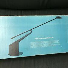 Vintage Lite Source Ls-330 Black Modernist Designer Halogen Work Desk Table Lamp