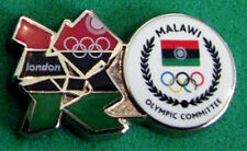 2012 LONDON Olympic MALAWI NOC Internal team - delegation dated  RARE pin