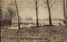 Noroton Ct Water Falls c1910 Postcard