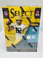 2020 Panini Select Football Blaster Box Walmart Tri-Color Die-Cut Factory Sealed