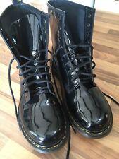 Dr Martens Black Patent Leather1460 Doc's Boots Uk8